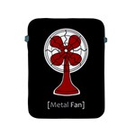 Metal Fan Apple iPad 2/3/4 Protective Soft Cases Front
