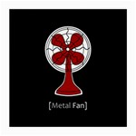 Metal Fan Medium Glasses Cloth (2-Side) Front