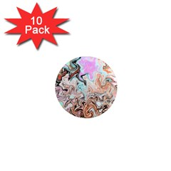 Distortedbeauty 1  Mini Magnet (10 pack)