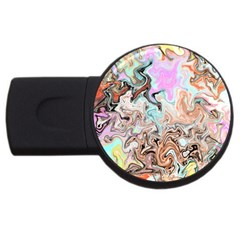 Distortedbeauty Usb Flash Drive Round (2 Gb)