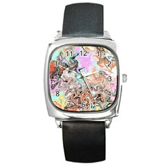 Distortedbeauty Square Metal Watches
