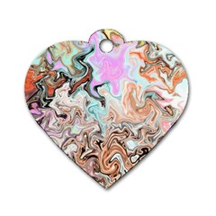 Distortedbeauty Dog Tag Heart (Two Sides)