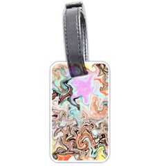 Distortedbeauty Luggage Tags (two Sides)