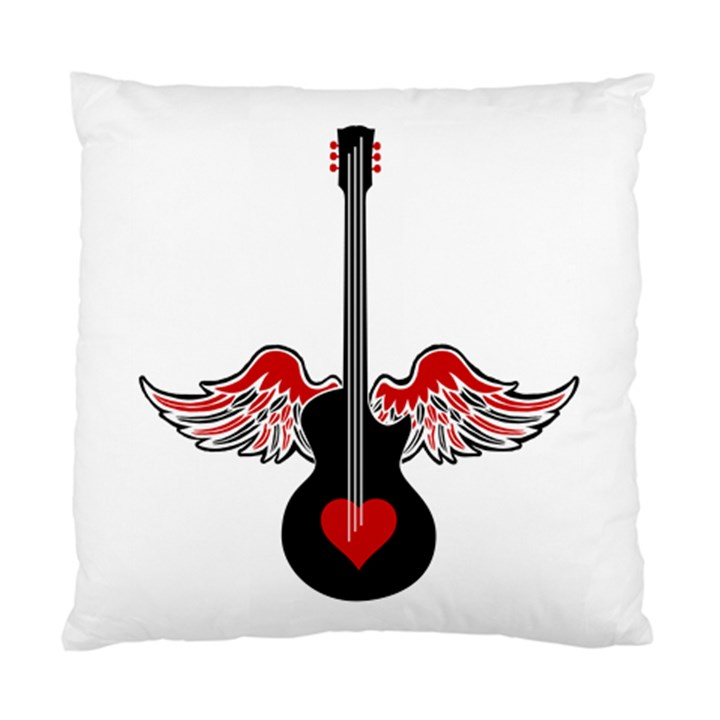 Flying Heart Guitar Standard Cushion Case (Two Sides)