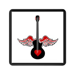 Flying Heart Guitar Memory Card Reader (square)
