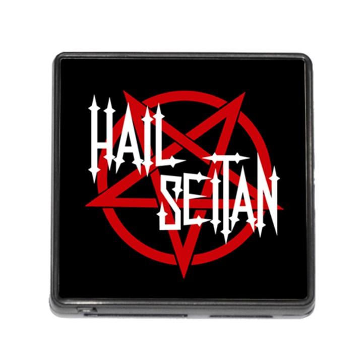 Hail Seitan Memory Card Reader (Square)