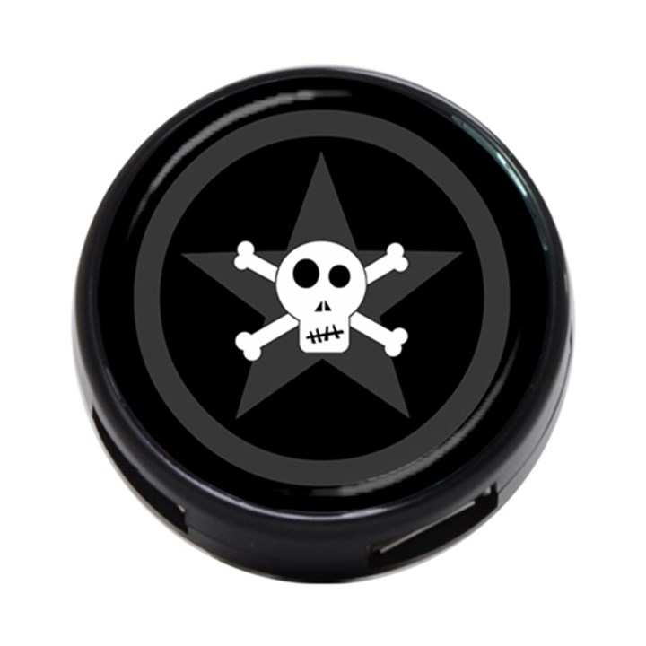 Star Skull 4-Port USB Hub (Two Sides)