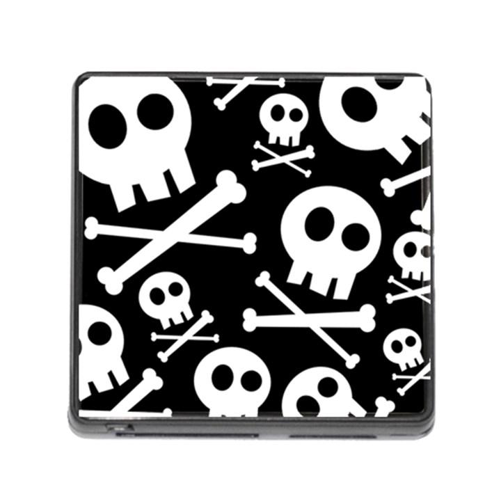 Cute Skulls Memory Card Reader (Square)
