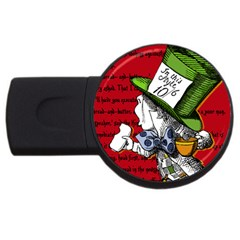 The Mad Hatter Usb Flash Drive Round (4 Gb)