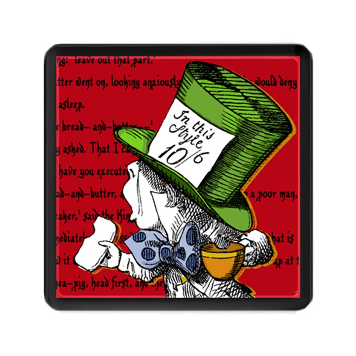 The Mad Hatter Memory Card Reader (Square)