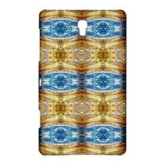 Gold And Blue Elegant Pattern Samsung Galaxy Tab S (8 4 ) Hardshell Case