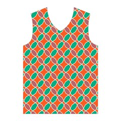 Stars and flowers pattern Men s Basketball Tank Top