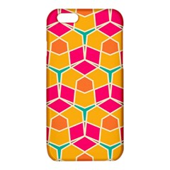 Shapes in retro colors pattern			iPhone 6/6S TPU Case