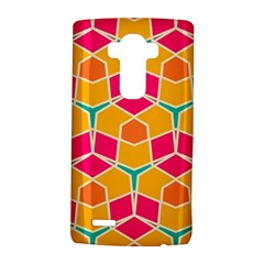 Shapes in retro colors pattern			LG G4 Hardshell Case