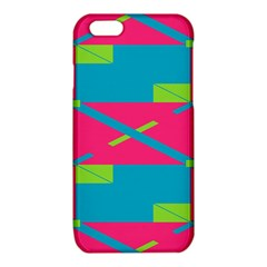 Rectangles and diagonal stripes			iPhone 6/6S TPU Case