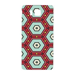 Hexagons Pattern			samsung Galaxy Alpha Hardshell Back Case