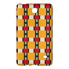 Rectangles And Squares Pattern			samsung Galaxy Tab 4 (7 ) Hardshell Case