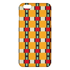 Rectangles and squares patterniPhone 6 Plus/6S Plus TPU Case