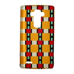 Rectangles and squares pattern			LG G4 Hardshell Case