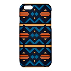 Rhombus  circles and waves pattern			iPhone 6/6S TPU Case