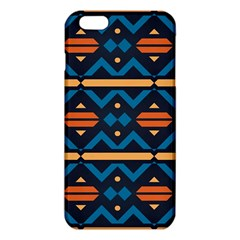 Rhombus  Circles And Waves Pattern			iphone 6 Plus/6s Plus Tpu Case