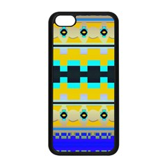 Rectangles And Other Shapesapple Iphone 5c Seamless Case (black)