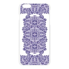 porcelain Apple Seamless iPhone 6 Plus/6S Plus Case (Transparent)