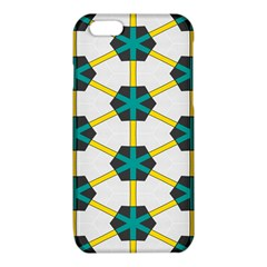 Blue stars and honeycomb pattern			iPhone 6/6S TPU Case