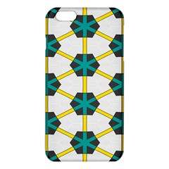 Blue Stars And Honeycomb Pattern			iphone 6 Plus/6s Plus Tpu Case