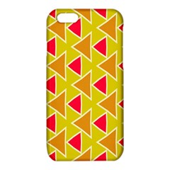 Red brown triangles pattern			iPhone 6/6S TPU Case