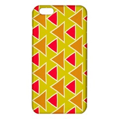 Red brown triangles patterniPhone 6 Plus/6S Plus TPU Case