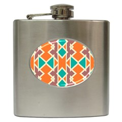 Rhombus Triangles And Other Shapes			hip Flask (6 Oz)