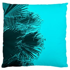 Modern Palm Leaves Large Flano Cushion Cases (one Side)