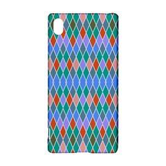 Pastel rhombus patternSony Xperia Z3+ Hardshell Case