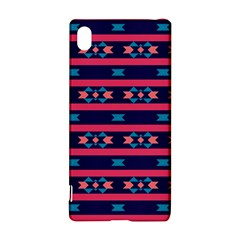Stripes and other shapes pattern			Sony Xperia Z3+ Hardshell Case