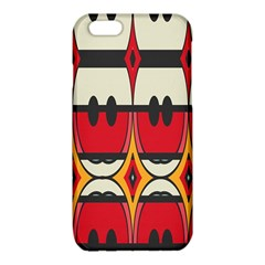 Rhombus ovals and stripes			iPhone 6/6S TPU Case