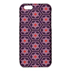Flowers and honeycomb patterniPhone 6/6S TPU Case