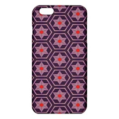 Flowers And Honeycomb Pattern			iphone 6 Plus/6s Plus Tpu Case