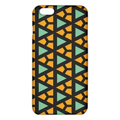 Green triangles and other shapes pattern			iPhone 6 Plus/6S Plus TPU Case