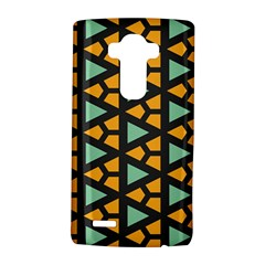 Green Triangles And Other Shapes Patternlg G4 Hardshell Case