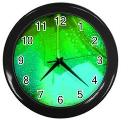 Angels 1 Wall Clocks (black)