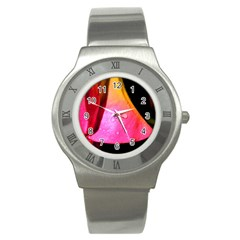 Pink Angel Stainless Steel Watches