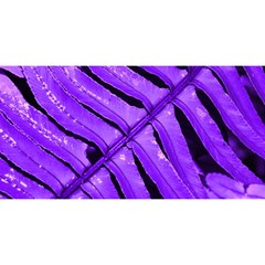 Purple Fern You Are Invited 3d Greeting Card (8x4)