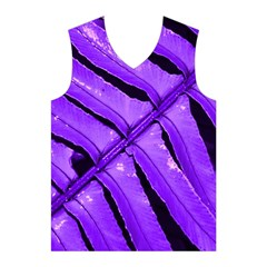 Purple Fern Men s Basketball Tank Top