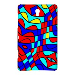 Colorful Bent Shapes			samsung Galaxy Tab S (8 4 ) Hardshell Case