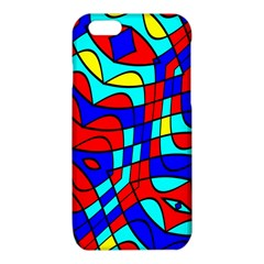 Colorful bent shapes			iPhone 6/6S TPU Case