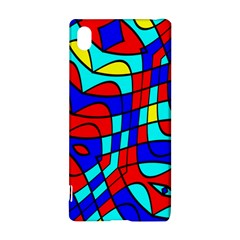 Colorful bent shapes			Sony Xperia Z3+ Hardshell Case