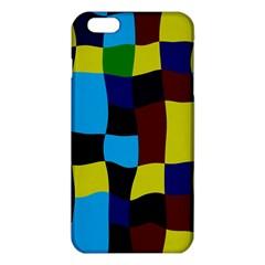 Distorted squares in retro colorsiPhone 6 Plus/6S Plus TPU Case