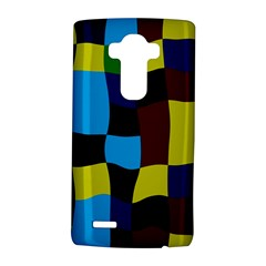 Distorted squares in retro colors			LG G4 Hardshell Case