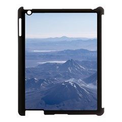 Window Plane View Of Andes Mountains Apple Ipad 3/4 Case (black)